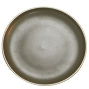 Tablekraft - Urban Round Coupe Plate Dark Grey 26.5cm