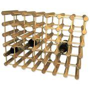 JK Adams - 40 Bottle Wine Rack Natural