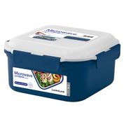 Lock & Lock - Microwave Square with Steamer Tray 2.4L