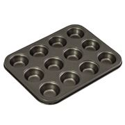 Bakemaster - 12 Cup Mini Muffin Pan