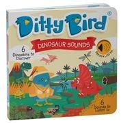 Ditty Bird - Dinosaur Sounds Board Book