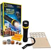 National Geographic - Tech Lab Coin Powered Flashlight