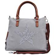 Sassy Duck - Star Power Canvas Bag Grey