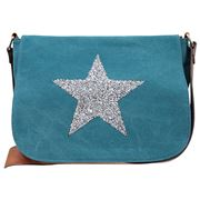 Sassy Duck - Star Power X Bag Turquoise