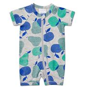 Marquise - Zip Romper Apples/Pears Size 00