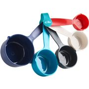 Trudeau - Assorted Color Measuring Cup Set 5pce