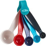 Trudeau - Assorted Color Measuring Spoon Set 5pce