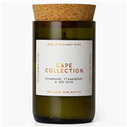 Cape Collection - Champagne Strawberry & Rose Candle 220g