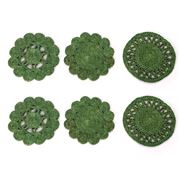 Carnival - Retro Green Coaster Set 6pce