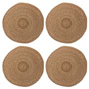 Carnival - Seagrass Placemat Natural 40cm Set of 4pce