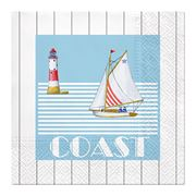 Paw - Lunch Napkins Boat Trip 20pce