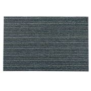 Chilewich - In/Outdoor Skinny Stripe Shag Forest 46x71cm