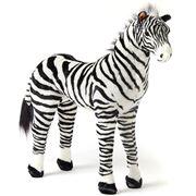 Pilbeam - Jiggle & Giggle Standing Zebra Large 76cm