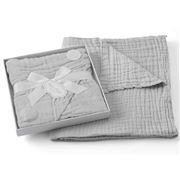 Pilbeam - Jiggle & Giggle Double Muslin Cotton Blanket Grey
