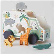 Pilbeam - Zookabee Animal Truck Set 6pce