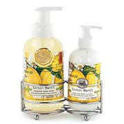 Michel Design - Lemon Basil Handcare Caddy