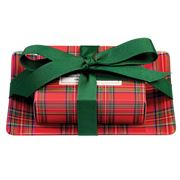Michel Design - Tartan Gift Soap Set
