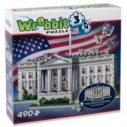 Games - 3D White House, Washington Jigsaw Puzzle 490pce