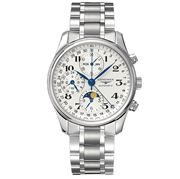 Longines - Master Collection Moon Phase S/Steel Chronograph