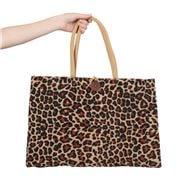 Peter's - Eco Friendly Jute Market Bag Ocelot Large