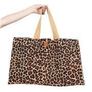 Peter's - Eco Friendly Jute Market Bag Ocelot Extra Large
