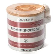 Olsson's - Red Gum Smoked Salt Flakes Red Jar 90g