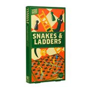 Professor Puzzles - Wooden Wood Games W/Shop Snakes Ladder