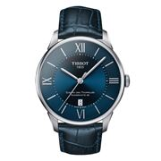 Tissot - Chemin Des Tourelles w/Blue Dial Watch 42mm