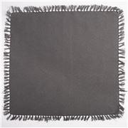 Carnival - Charcoal Cotton Napkin 45x45cm