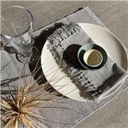 Carnival - Marle Grey Cotton Napkin 45x45cm