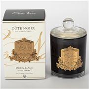 Cote Noire - Jardin Blanc Candle Gold Badge 450g