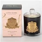 Cote Noire - Petale de Rose Gold Badge Candle 450g