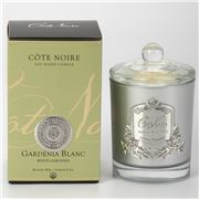 Cote Noire - Gardenia Blanc Silver Badge Candle 185g