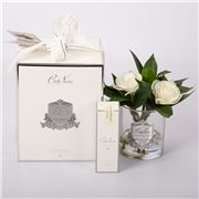 Cote Noire - Gardenias in Clear Glass w/Fragrance