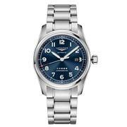 Longines - Spirit S/Steel Blue Dial w/Arabic Num. Watch 42mm
