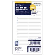 Filofax - Personal Day Per Page w/Appointment Dairy 2021