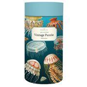 Cavallini - Jellyfish Vintage Puzzle 1000pce