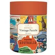 Cavallini - Australian Collage Puzzle 500pce