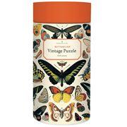 Cavallini - Butterflies Puzzle 1000pce