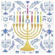 IHR - Happy Hanukkah Napkins 25x25cm 20pce