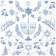 IHR - Hanukkah Napkins 33x33cm 20pce