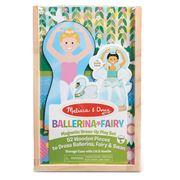 Melissa & Doug - Ballerina Fairy Magnetic Dress Up Play