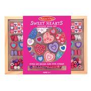 Melissa & Doug - Sweet Hearts Bead Set