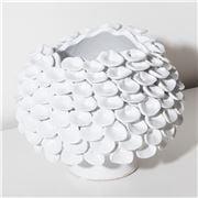 Mode - Cress Vase White 23x18.5cm