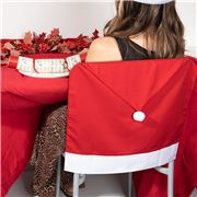 Luxe by Peter's - Santa Hat Chair Back Cover