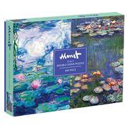 Galison - Double-Sided Monet Puzzle 500pce