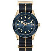 Rado - Capt Cook Automatic Watch Blue Dial Bronze Case 42mm
