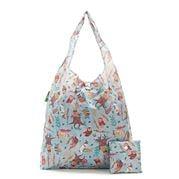Eco-Chic - Blue Owl Shopper Bag