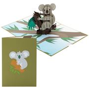 Colorpop - Koala Greeting Card Medium