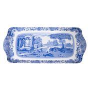 Pimpernel - Blue Italian Melamine Sandwich Tray 17x38.5cm